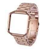 Bande de montre de Trois-Tiges de solide avec le bâti pour la flamme de Fitbit