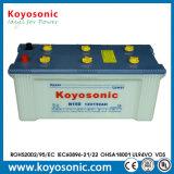 Das saure Leitungskabel N150 trocknen belastete Autobatterie-Automobilbatterie 12V 150ah