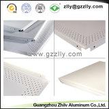 "ISO 9001를 가진 24장의 "" *24 "" 최신 판매 사각 청각적인 관통되는 알루미늄 천장 도와"