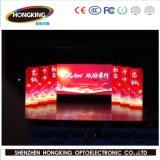 P4 Cortina LED programável interior a exibição de vídeo