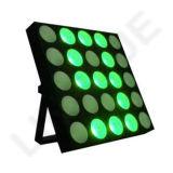 25X10W scaldano l'indicatore luminoso bianco di effetto dei paraocchi della tabella del LED