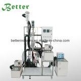 Equipo de la destilación del alcohol del laboratorio