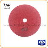 """5""""/125mm Diamante seco Almofada de polir piso instrumentos abrasivos rebolos de pedras"""