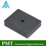 Arc металлокерамические постоянного ферритовый магнит с Sr Ba магнитный материал