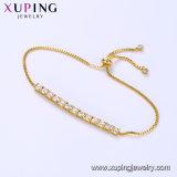 75290 Art-Schmucksache-Armband der Form-24K Gold überzogenes Dubai