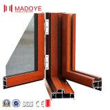 Puerta doble de aluminio del marco del diseño de la puerta principal más puertas del acoplamiento