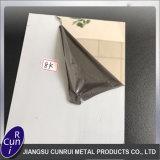 De Plaat van het Roestvrij staal van Ba Inox van de Spiegel ASTM SS316 304