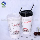 Kundenspezifischer heißer Kaffee-Wegwerfschaumgummi-Papiercup