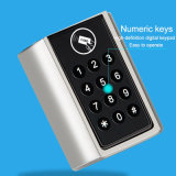 Bluetooth del cilindro de electrónica inteligente Bloqueo y desbloqueo por código, la tarjeta y Bluetooth Mobile App.