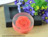 Мыло красотки мыла туалета чистки мыла ванны Rose Bamboo уксуса кристаллический слабое глубокое