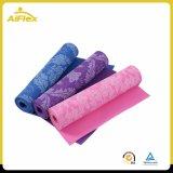 Циновка йоги тренировки с пеной PVC комфорта