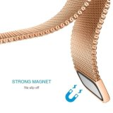 La parte superior de la moda de malla de Banda Magnética de acero inoxidable Correa de bucle en el marco de Fitbit Blaze