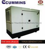 Super Silent Denyo Dcec навес 16-24квт 50/60Гц IC180206Cummins генераторах[b]