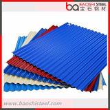 Prepainted гальванизированная Corrugated плитка крыши