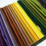 Tela de tapicería teñida poliester tejida del sofá de la materia textil del terciopelo