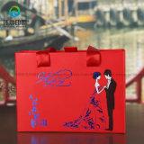 卸し売りカスタムボール紙の引出し様式のペーパー包装のギフトのタバコの約束。 結婚式のためのボックスハンドル