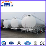 Acoplado de gasolina y aceite químico líquido del tanque de la ISO, fabricante del carro del tanque