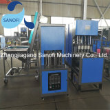 Maquinaria plástica usada semiautomática de la máquina del soplo del estiramiento del animal doméstico de 5 galones que moldea