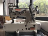 Máquina de coser de la decoración del dispositivo de seguridad de la base plana