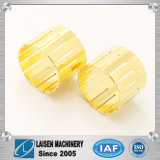 Customized Het Brons CNC die van het Messing van het koper voor de Hoge Nauwkeurige Oplossing van de Apparatuur machinaal bewerken