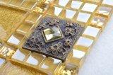 R38 Tegel van het Mozaïek van het Glas van de Folie van de Badkamers de Gouden