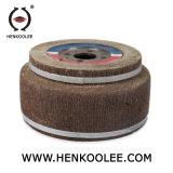 Trappe de ponçage du bois de roue/roue en caoutchouc de ponçage