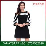熱い販売のヨーロッパデザイン肩の優雅な女性服