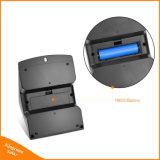 4 lampada esterna funzionante di obbligazione di movimento di modi del sensore della parete del giardino solare dell'indicatore luminoso 15 LED
