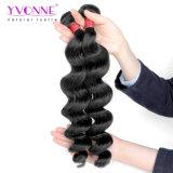 O cabelo brasileiro do Virgin de Yvonne 100 remenda extensões frouxas do cabelo da onda