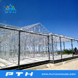 Casa de acero ligera prefabricada del chalet del bajo costo de China