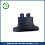Piatto di ceramica anodizzato nero su ordine dei pezzi meccanici di CNC dell'alluminio 6061-T6 dell'OEM