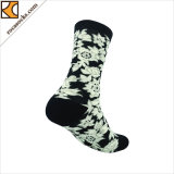 Muster-bequeme Baumwollbeiläufige warme weiche Socken der Frauen (165035SK)
