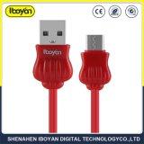 1 m de cor vermelha a carga rápida USB tipo-C cabo do carregador