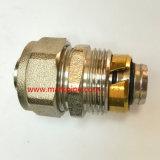 Zuverlässiges Qualitätsnickel überzogenes gleiches gerades Verbindungsstück