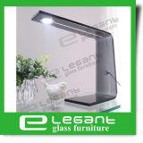 Lámpara de vector de cristal doblada gris con la potencia de Ue