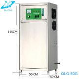 Ozono que hace la máquina para el purificador del agua de la piscicultura