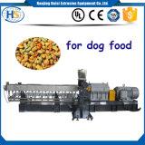 Côté en alimentant le chien à double vis Chew/Bone Faire Pet Food extrudeuse