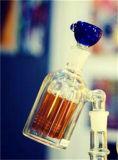 De Vanger van de As van de Waterpijp van Ashcatcher van het glas voor Tabak met de Blauwe Kom van het Glas
