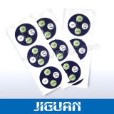 Form-buntes gedrucktes grafisches Plastiktestblatt für Spiel-Spieler
