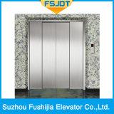 elevador de frete Center da abertura 4-Panels com espaço grande