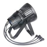 200W Rgbaw+UV 6 em 1 luz de inundação do diodo emissor de luz