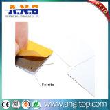 etiqueta del metal del Hf del pegamento RFID de los 3m