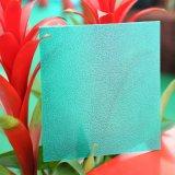 Feuille de polycarbonate givrée par diffusion durable de couleur pour l'usage décoratif