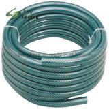 プラスチック適用範囲が広いファイバーによって編まれる補強された水油圧庭の潅漑の管のホースPVCガーデン・ホース