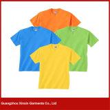100%年の綿の方法女性の円形の首プリントTシャツのティーワイシャツ(R111)