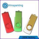Azionamento dell'istantaneo del USB della parte girevole, bastone popolare del USB