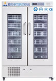 660 litros refrigerador Side-by-Side do banco de sangue do estilo da porta (HEPO-B660)