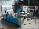 Máquina de dobramento de papel do guardanapo dobro de alta velocidade da plataforma