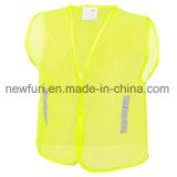 Куртка безопасности сетки отражательная с тельняшкой видимости карманн застежки -молнии высокой