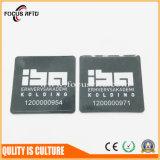 Бирка металла PVC материальная NFC любимчика с номером Uid напечатала